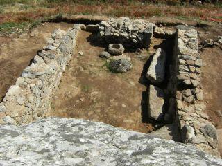 Restos de la ermita de San Guillerme, Fisterra