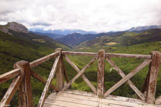 Mirador de Piedrasluengas, a 1.355 metros de altitud.