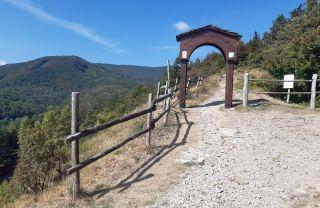 Passo della Cisa, entrada a la Toscana.
