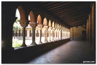 El claustro de la abadía de Saint Pierre, Moissac