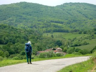 Bajando a Montégut-Plantaurel