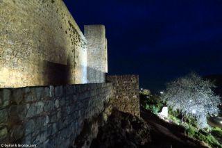 Murallas del castillo de Alcaudete