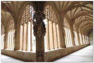 Claustro del Monasterio de Santa María la Real, Nájera