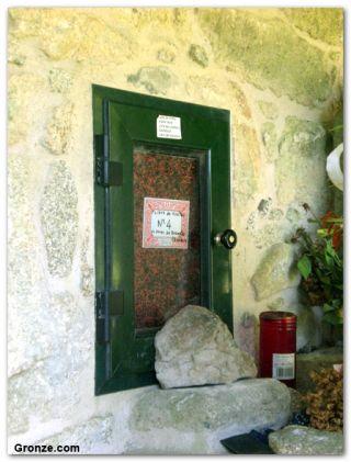 Libro de visitas de la ermita de Nosa Señora das Neves