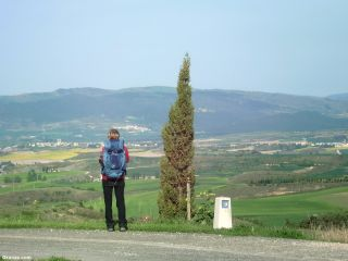 Vista desde Olcoz