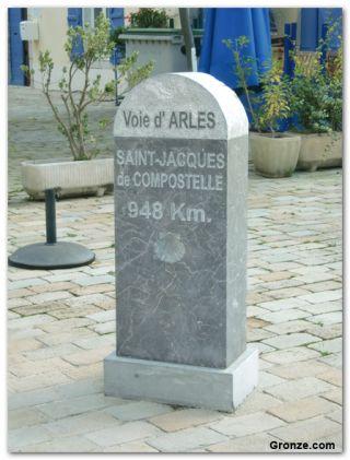 Hito del Camino de Arles, Oloron-Sainte-Marie