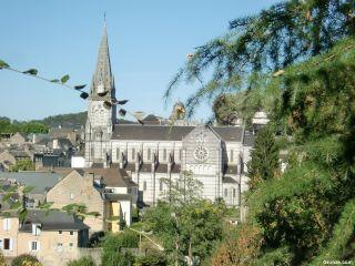 Llegando a Oloron-Sainte-Marie
