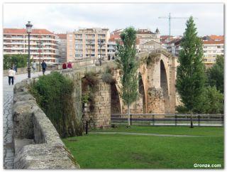 Ponte Vella, salida de Ourense