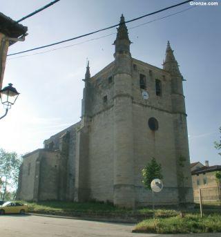 Iglesia de San Esteban, Orón