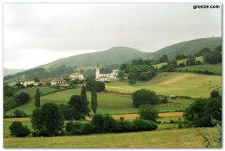 El pueblo de Ostabat