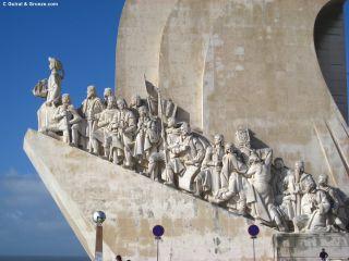 Monumento Padrão dos Descobrimentos, en el barrio de Belém de Lisboa