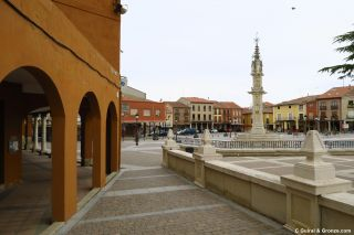 Plaza Mayor de Villalón de Campos