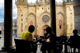 Plaza de la Catedral de Mondoñedo