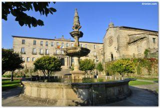 Jardines de Casto Sampedro e iglesia de San Francisco, Pontevedra