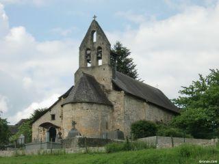 Iglesia en Pouech