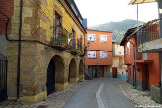 El Camino Real a su paso por Puente de Domingo Flórez