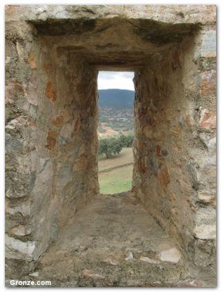 Vistas desde el castillo de El Real de la Jara