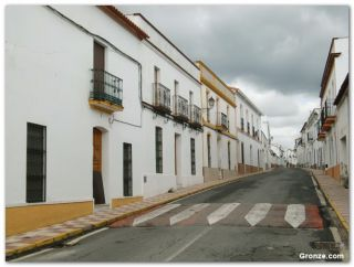 Calle de El Real de la Jara