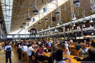 El mercado da Ribeira en Lisboa