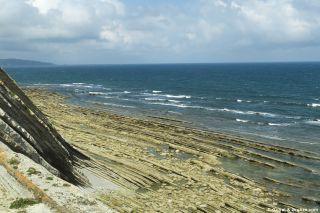Roquedos de la Corniche en marea baja