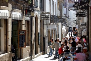 Rúa da Raíña, Santiago de Compostela
