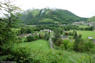Vista del valle, Lurbe-Saint-Christau