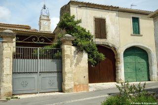 Detalle del casco antiguo, Saint-Christol