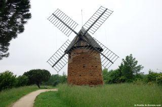 Molino de viento, Saint-Martin-du-Touch