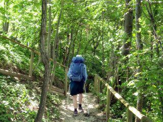 Bajando a Saint-Romain-de-Surieu