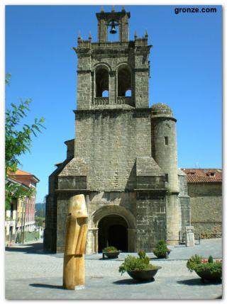Iglesia de Santa María La Mayor, Salas