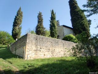 La chapelle de la Salette, a la salida de Bellegarde-Poussieu