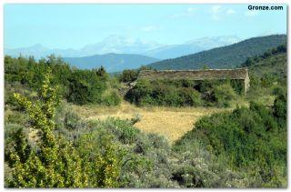 De camino a San Juan de la Peña