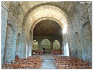 Iglesia superior de San Juan de la Peña