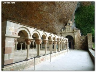 Claustro del Monasterio Viejo de San Juan de la Peña