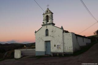Iglesia de San Xoan Degolado en Vilamartín Pequeno