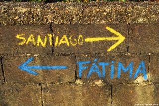 Doble señalización Santiago-Fátima
