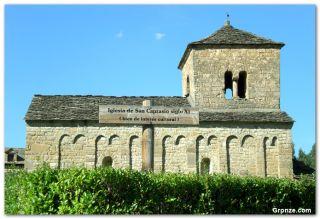 Iglesia de San Caprasio, Santa Cruz de la Serós
