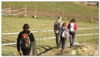 Grupo de peregrinos