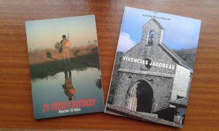 Dos de los libros de Alejandro Uli