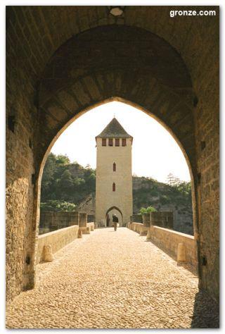 El puente Valentré, Cahors