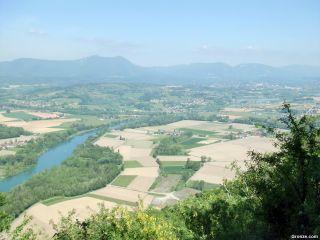 Valle del Rhône, de camino a Saint-Maurice-de-Rotherens