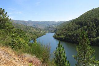Vista del valle del Sil, cerca de Sequeiros