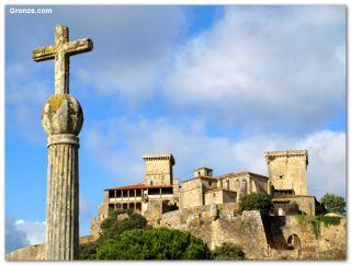 Castillo de Monterei, Verín (variante)