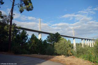 Viaducto de la A4, de Relvas a Parada de Cunhos