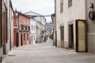 Calle del casco antiguo de Vilalba
