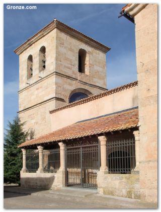 Iglesia de San Juan Bautista, Castellanos de Villiquera