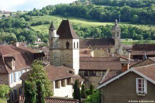 Vista desde Notre-Dame de Le Puy, Figeac