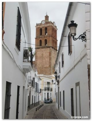Torre de la Colegiata de la Candelaria